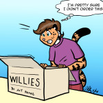 Charity Gets a Case of the Willies by The Gneech