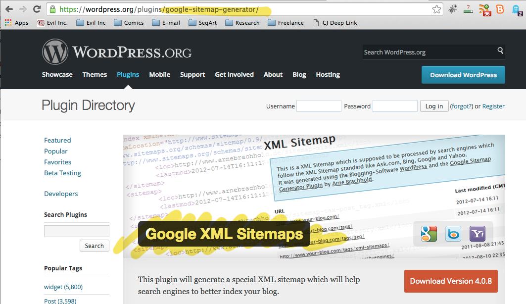 GoogleXML_sitemaps
